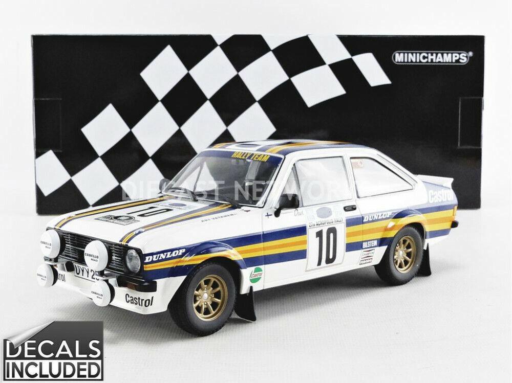 marcas de moda Minichamps - 1 18 - - - Ford RS 1800-Acrópolis Rallye 1980 - 1558087 10  autentico en linea