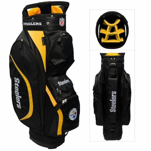 New For 2017 Nfl Team Golf Pittsburgh Steelers Clubhouse Cart Bag