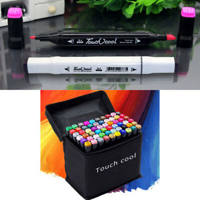 NEw 30-80Colors Artist Dual Head Sketch Copic Markers Set For Drawing Sketch XYW