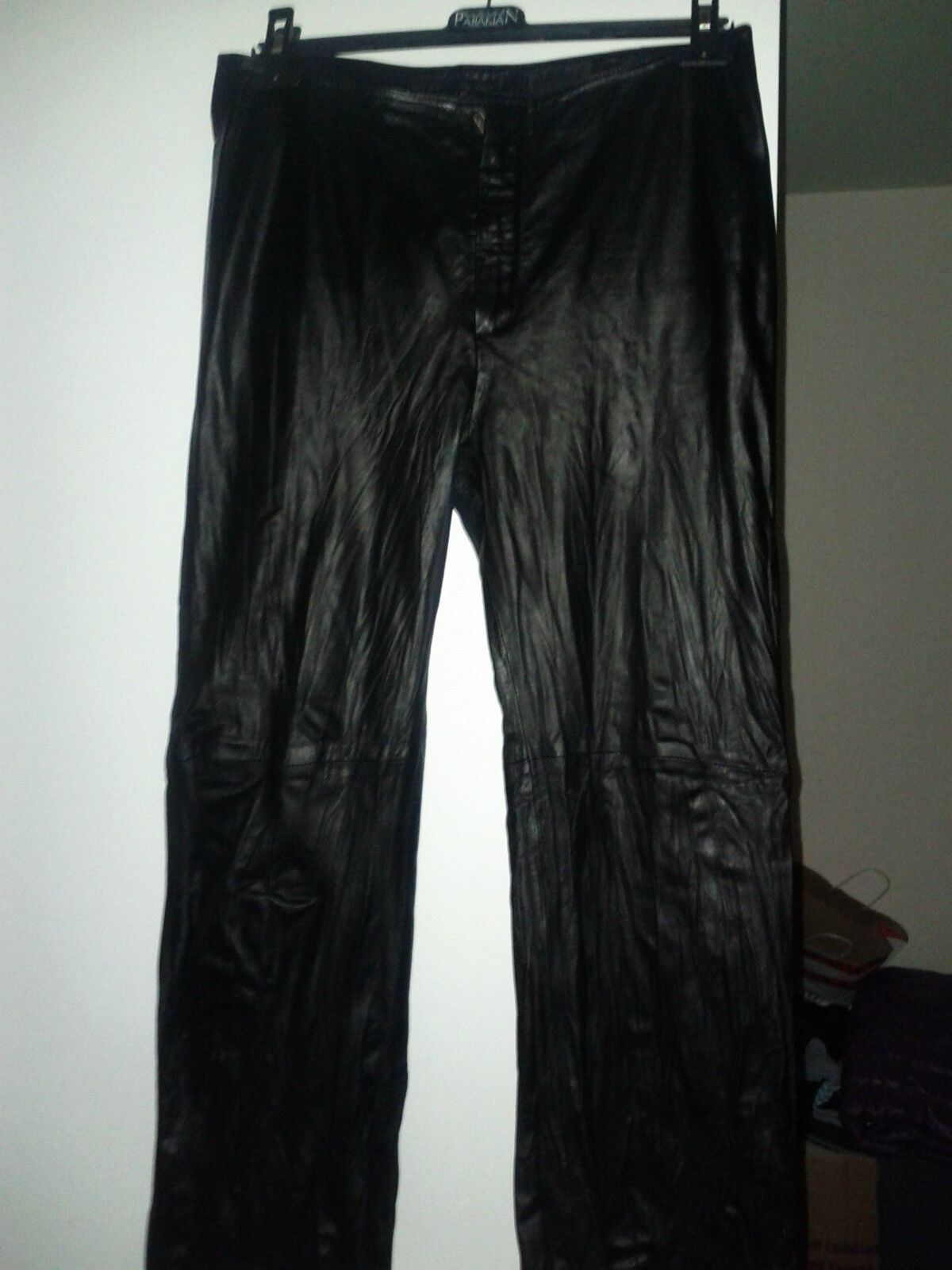 Kathleen Madden Ladys Designers Leather Jeans