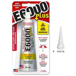 E6000-Glue-amp-Nozzle-Glass-Jewellery-Gems-Beads-PLUS-Craft-Snip-Tip-Adhesive