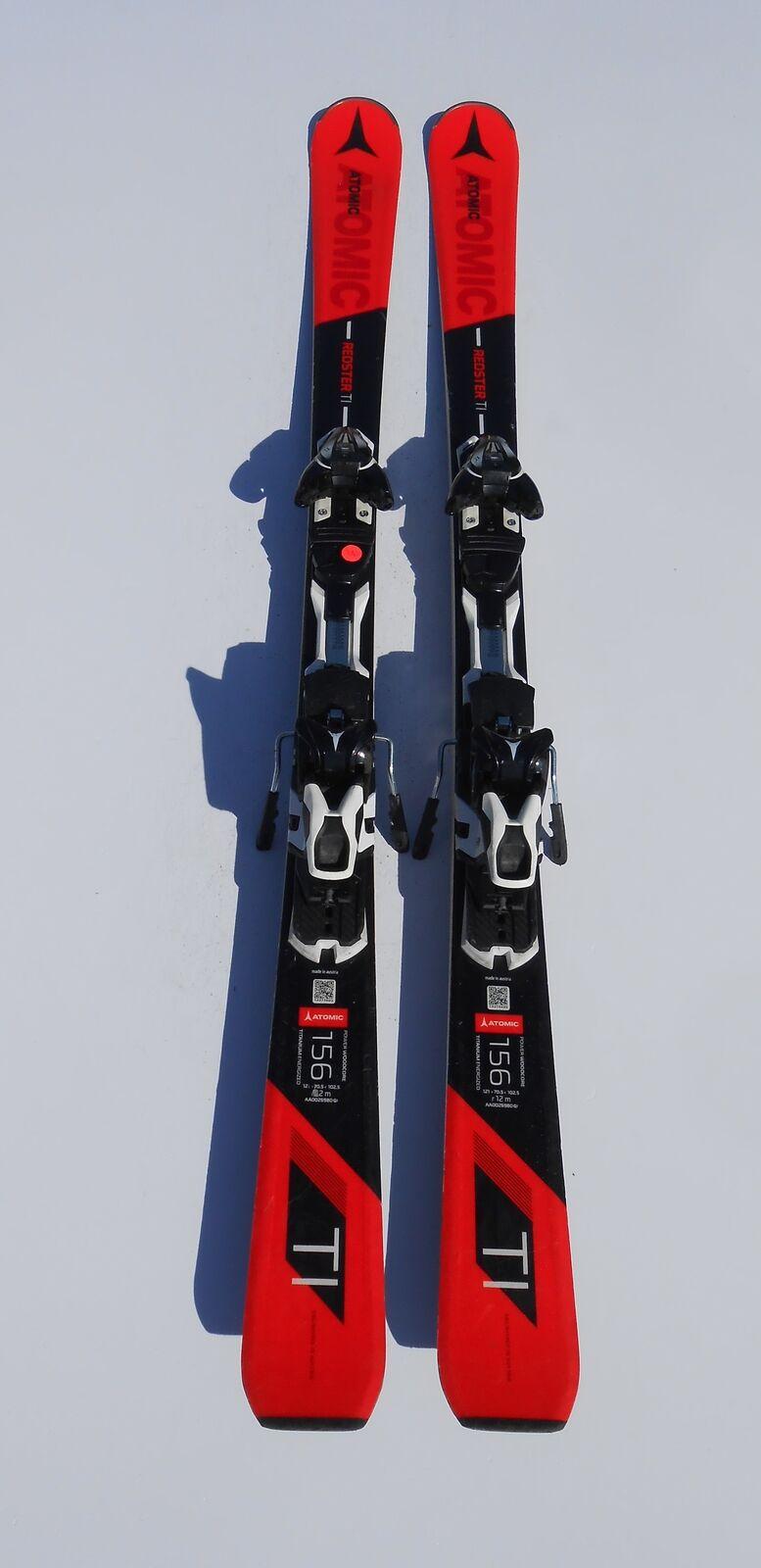 ATOMIC ROTster Ti  Carving-Ski Länge 156cm (1,56m) inkl. Bindung   490