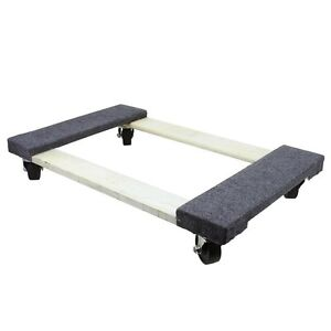 """30"""" x 18"""" x 5-1/2"""" 1000 lb. Capacity Furniture Moving Dolly"""