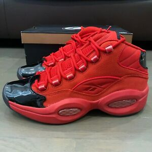 Reebok-Question-Allen-Iverson-Heart-Over-Hype-Size-7-5-Black-Red-Rare-HTF-New