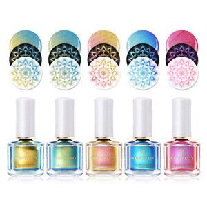 8colors-BORN-PRETTY-Chamaeleon-Stempel-Nagellack-Perle-Farbe-Nail-Stamping-Polish