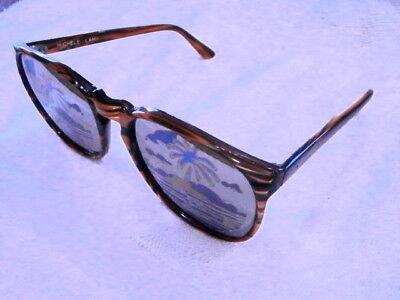 """Neu Und 100% Original 1982 Sehr Selten """" Tigerstreifen """" Bemalt Verspiegelte Sonnenbrillen Sonnenbrillen & Zubehör"""