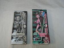 Lot of 2 Monster High Dolls Draculaura and Frankie Stein Skull Shores NIB
