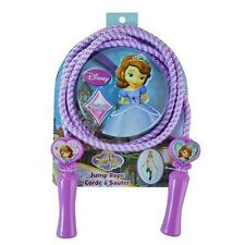DISNEY SOFIA FIRST PRINCESS HEAVY DUTY 7 FOOT JUMP ROPE JUMPING ROPE-BRAND NEW!