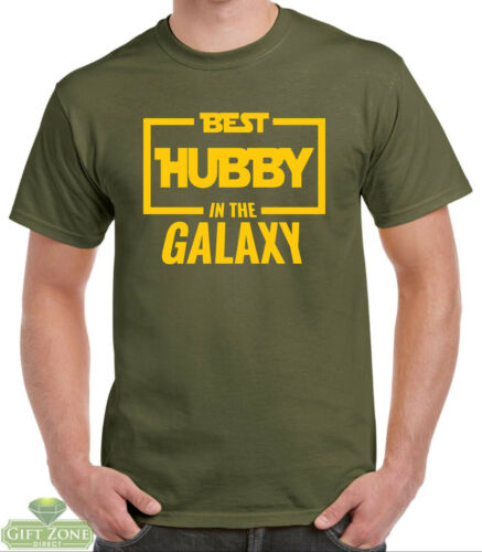 Best Hubby in the Galaxy T-Shirt Gift