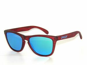 30295d3e0a Image is loading Clearance-OAKLEY-SUNGLASSES-FROGSKINS-9013-B7-MAT-RED-