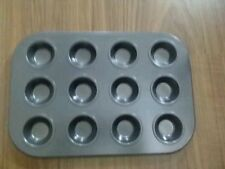12 cup Mini  Muffin/Cup cake/ Tart mold Nonstick Pan Tray/ + 100 pcs liner free