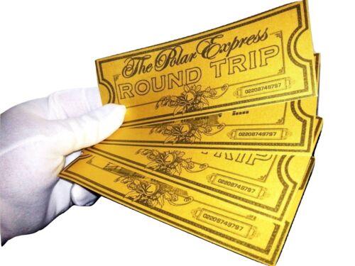 See Description xx Polar Express Ticket Believe Ticket Great Christmas Gift