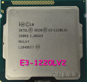 Intel Xeon E3-1220L V2 E3-1220LV2 2.3 GHz Dual-Core Processor