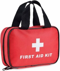112 Pieces First Aid Kit -All-Purpose Premium Medical Supplies and Emergency Bag