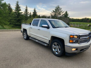 2014 Chevrolet 1500 LTZ Z71, Crew Cab, Short Box, Exc. Condition