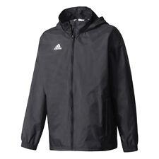 adidas Core 15 Windbreaker Jacke 140 Blackwhite (schwarz