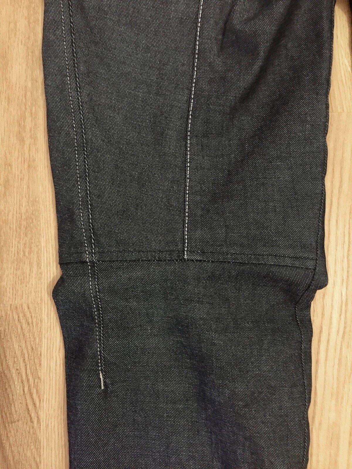 ♥ ♥ ♥ Designer Jeans vom Kult Label HIGH ♥ Extravagant Schwarz Cargo Gr 38 Wie neu 874c5f