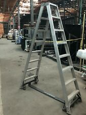Custom Industrial Ladder 8 Foot On Wheels Theatrical Local Pu Only