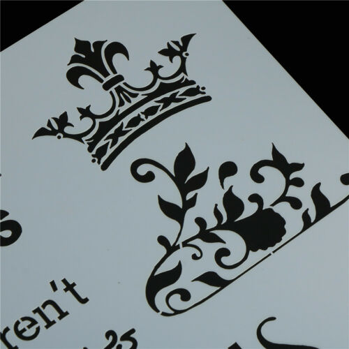 paris layering stencils for walls painting scrapbooking stamping album CL