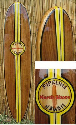 Decorative Wood Surfboard Wall Art Hawaiian Coastal Beach Home Wall Decor Ebay