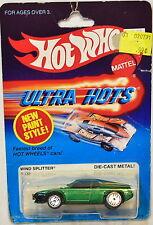 HOT WHEELS 1983 ULTRA HOTS WIND SPLITTER #9539 GREEN