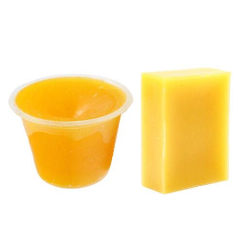 2 Stück Bienenwachs Barren 100/% Bienenwachs zur Herstellung von Kerzen,