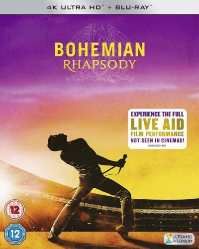 Bohemian Rhapsody 4K UHD Ultra HD - Blu Ray - Brand New & Sealed