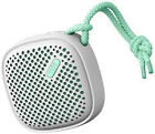 NudeAudio PS002MTG Move S Portable Bluetooth Wireless Speaker - Grey/mint
