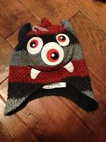 Boy's The Children's Place Beaver Trapper Hat 4-7 Yrs S/m Warm Christmas