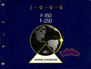 1999 F150 F250 SHOP MANUAL FORD SERVICE REPAIR ELECTRICAL ...