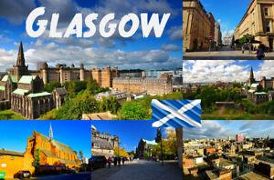GLASGOW, SCOTLAND - SOUVENIR NOVELTY FRIDGE MAGNET ...