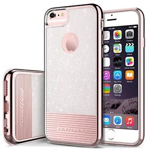 new arrival 2b788 35532 Details about iPhone 6 / 6S Case Protective Cover Shockproof Anti Slip Rose  Gold