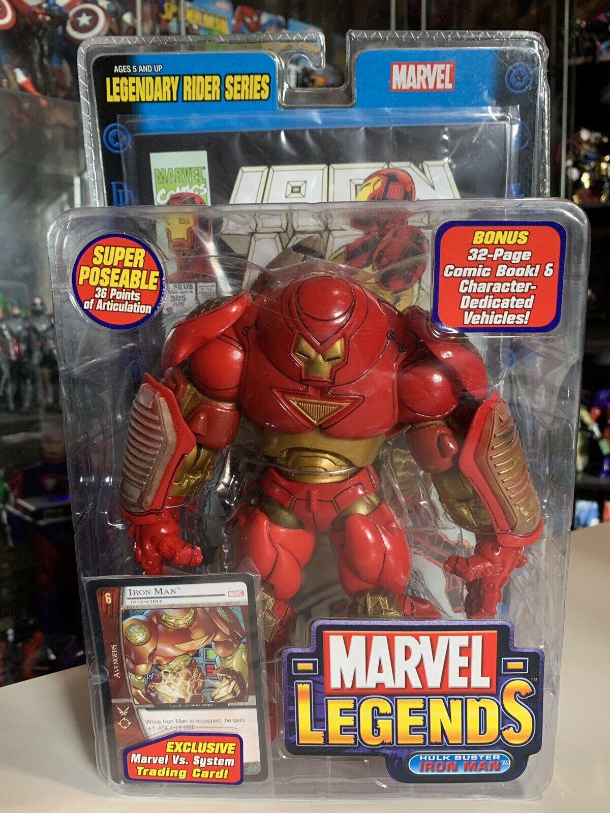 Marvel legends hulk buster iron  homme LEGENDARY RIDER SERIES TOY BIZ  2018 magasin