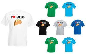I-Love-Tacos-Mens-Printed-T-Shirt