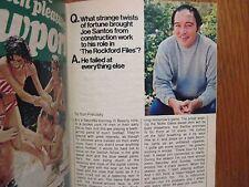 Aug. 20, 1977 TV Guide(JOE  SANTOS/THE  ROCKFORD FILES/JADA ROWLAND/JAMES GARNER