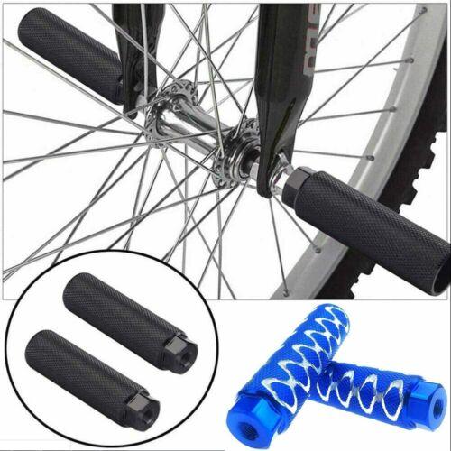2Pcs 3//8 inch-26 Teeth Aluminum Alloy Bike Pegs Non-Slip Lead Foot Bicycle Pegs