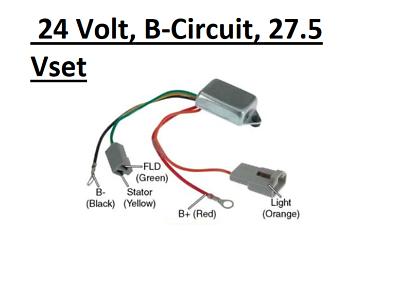 how to hook up a voltage regulator