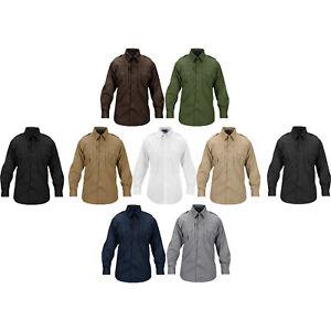 Propper-Men-039-s-Tactical-Lightweight-Wrinkle-Resistant-Shirt-Long-Sleeve-Poplin