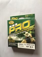 Cortland 333 PRO Trout Full Sinking Taper Type-3 WF8S  Fly Line-New In Box