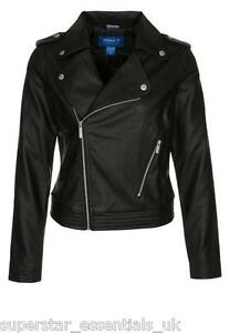 695d8045ffbb Image is loading GY-BNWT-ADIDAS-ORIGINALS-Womens-Faux-Leather-Jacket-