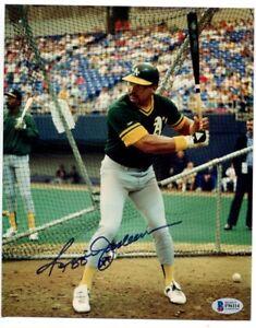 Reggie-Jackson-Signed-Photo-8x10-Autographed-Oakland-A-039-s-Beckett-BAS-F96114
