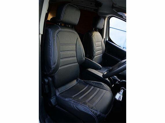 Finta Pelle 650g per Volkswagen Crafter 2007 Van Coprisedili completamente completamente completamente su misura 1b318e