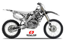 2008 HONDA CRF 450 R DIRT BIKE GRAPHICS KIT CRF450R MOTOCROSS MX SKULL DECALS