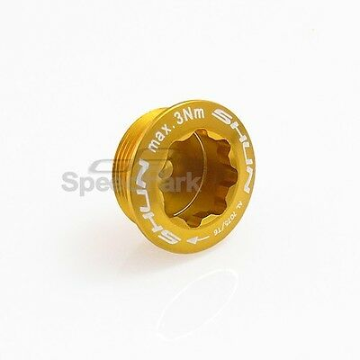 NEW Ultraligh MFD M20 (20mm) Alloy Crankset Cover Gold