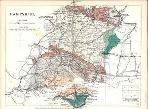 Antique-map-Hampshire
