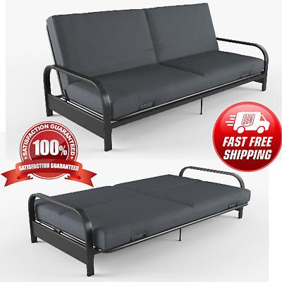 Full Size Futon Sleeper Sofa Bed Frame