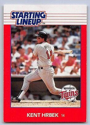 Kenner Starting Lineup Card MINNESOTA TWINS 1988  KENT HRBEK