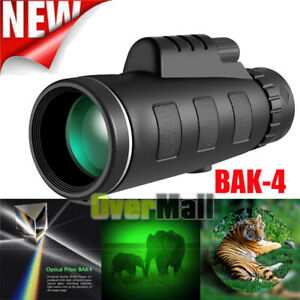 40X60 Starscope Binoculars with Night Vision BAK4 Prism High Power Waterproof