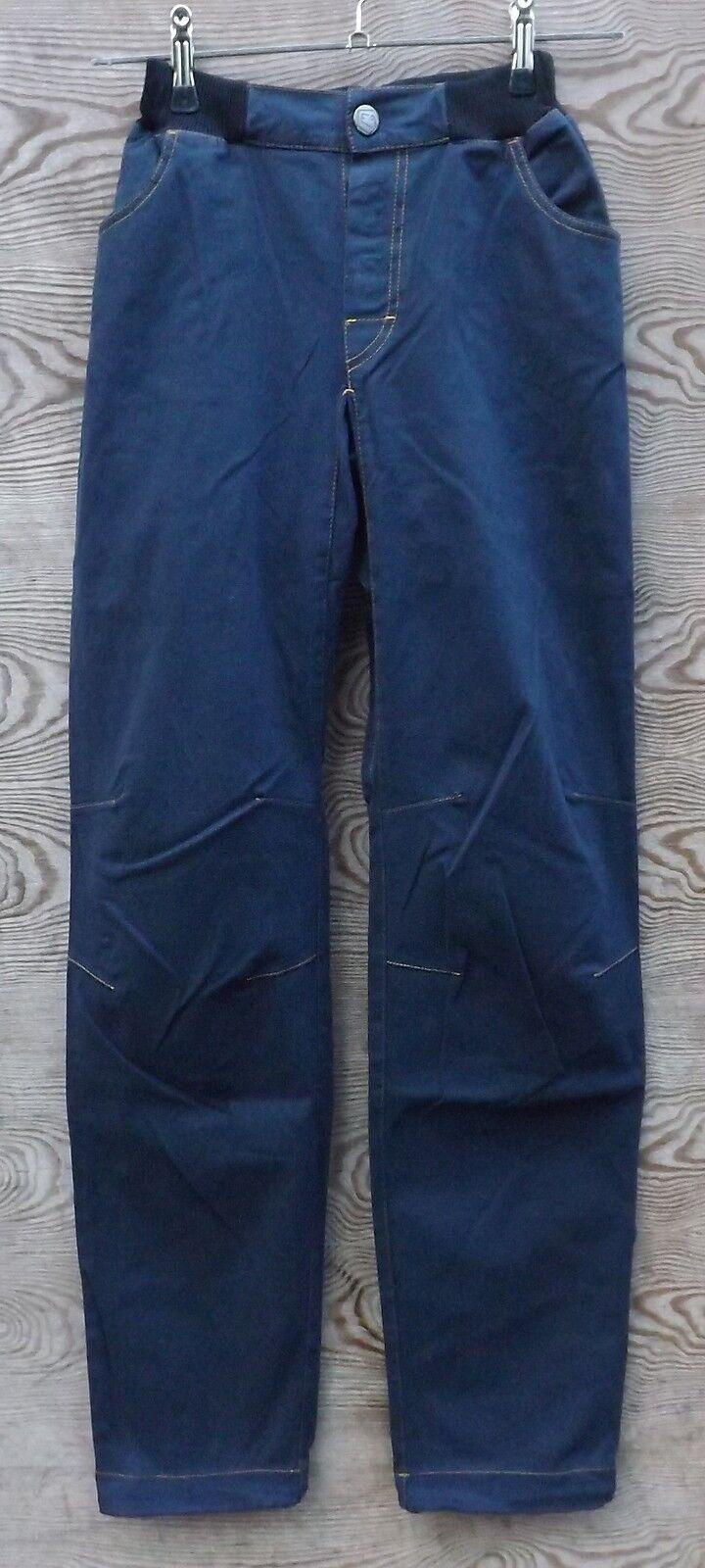 E9 Lun 10 Invierno - Pantalones para escalar para hombre, azulnavy