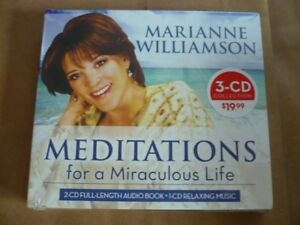 Inquiet Meditations For A Miraculous Life Par Marianne Williamson (3cd) Neuf Dissipation Rapide De La Chaleur